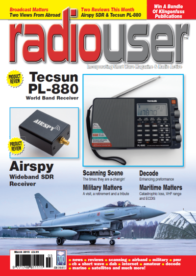 Radio User Magazine - March 2015